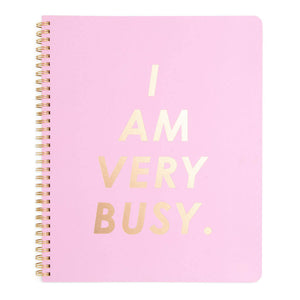 I Am Very Busy Spiral Notebook