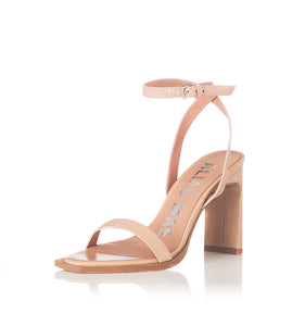 Clara Natural Leather Heel