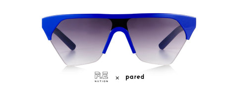 P.E Nation x PARED Defender Royal Blue Sunglasses