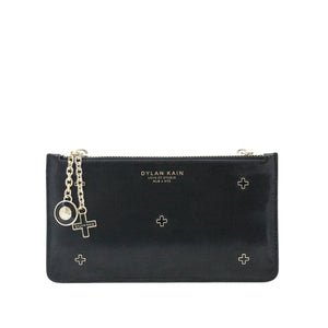 The Dana Stars Pouch Light Gold or Silver