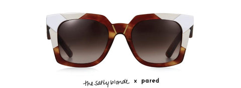 TSB x Pared Tints & Tones Havana/Ivory Sunglasses