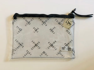 Toiletry Clutch Clear Bag