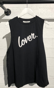 Lover Signature Tank Black