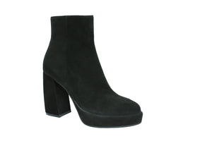 Camoscio Nero Black Suede Heel Boots Was $239 Now $99