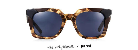 TSB X Pared Tints & Tones Marble Tortoise Sunglasses