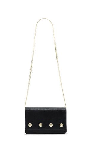 The Sienna Snake Black and Gold Bag