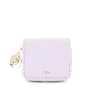 The Kat Satin Gold Lilac Wallet