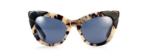 Puss & Boots Cookies & Cream Cat Eye Sunglasses