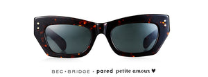 Bec + Bridge X PARED  Petite Amour Tortoise Sunglasses