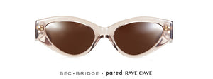 Bec + Bridge X Pared Rave Cave Clear Tawny Sunglasses