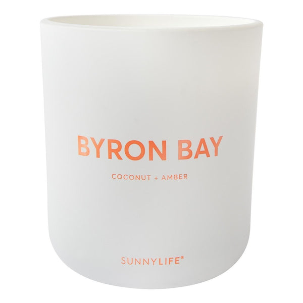 Byron Bay Coconut & Amber Candle