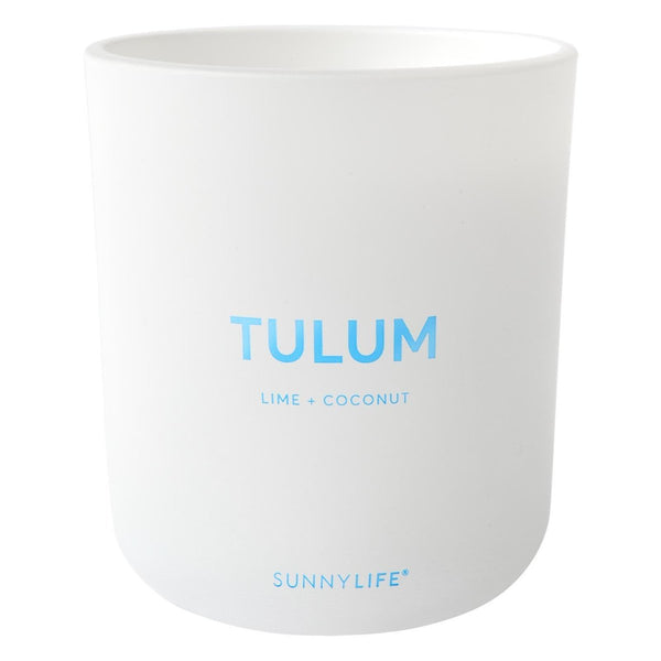 Tulum Lime & Coconut Candle