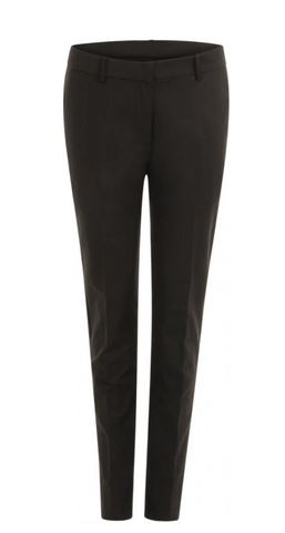 Black Lucia Suit Pants w. Crease