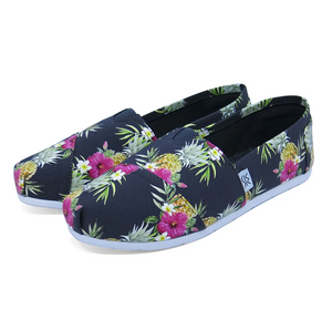 The Palm Beach Pineapples Espadrille
