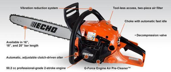 Echo CS-4910 Chain Saw - Powerhead Only (Pre-Order Only - Not in Stock)