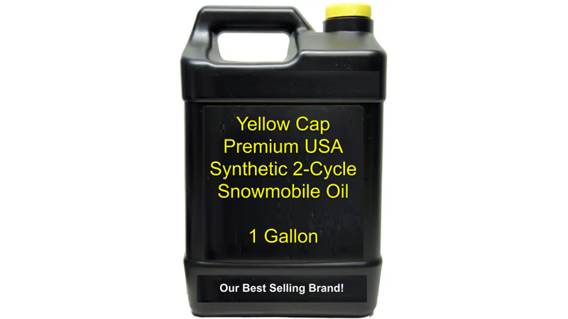 Yellow Cap Premium Snowmobile Oil