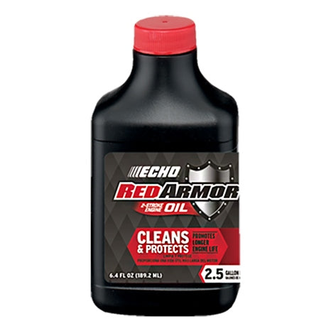 Red Armor 2 Cycle Oil (6.4 oz - Makes 2.5 Gallons at 50:1)