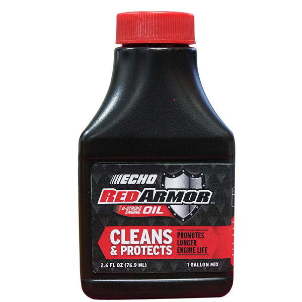 Red Armor 2 Cycle Oil (2.6 oz - Makes 1 Gallon at 50:1)