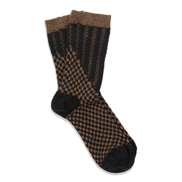 step sock - black