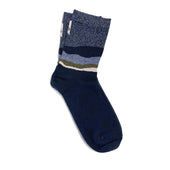 azurite sock - dark blue