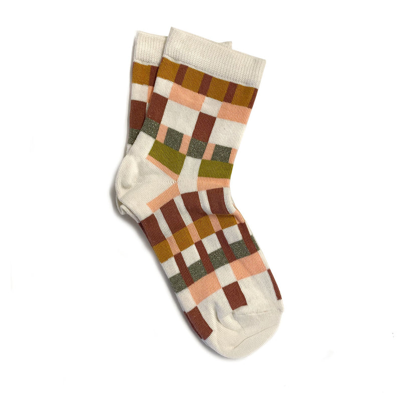 pixelito sock - cream