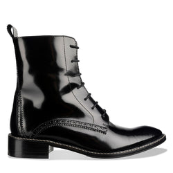 Black Leather Boots – Made In Italy