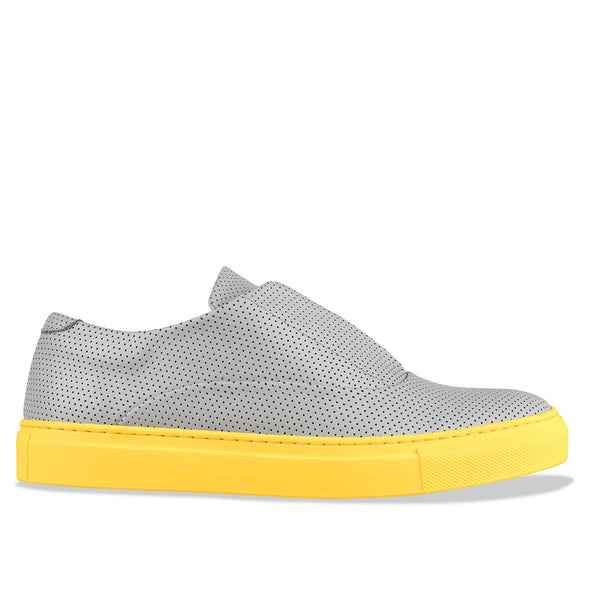 spencer - grey yellow