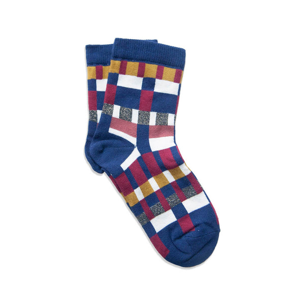 pixelito sock - navy