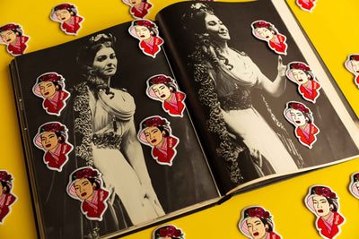 Maria Callas Iron-On Patch