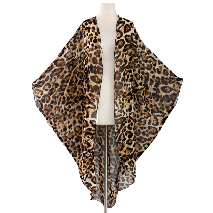 by VINNIK Coloratura Cape in Leopard