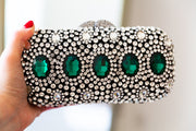 TARA: Art Deco Crystal Clutch