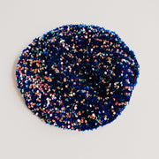 Blue Sequin Beret