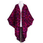 "by VINNIK Coloratura Cape in ""Kathryn"" Oxblood with Tree Silhouette"
