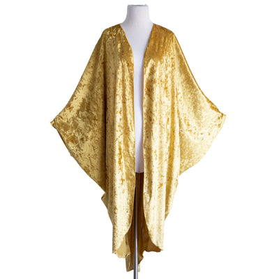 "by VINNIK Coloratura Cape in ""Gold"" Crushed Velvet"