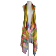 "by VINNIK: Argentina Square Duster in ""Mojave"" 100% Silk"