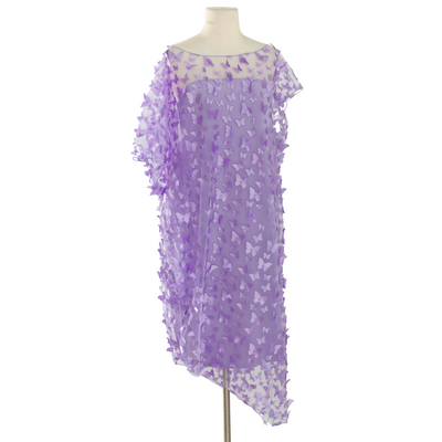 "byVINNIK ""Lavender Purple Fiore 3D Butterfly"" Cabaletta Dress"