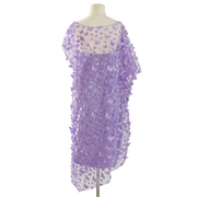 "by VINNIK ""Lavender Purple Fiore 3D Butterfly"" Cabaletta Dress"