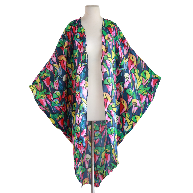 "by VINNIK Coloratura Cape in ""Dell'Arte Calla Lily"" 100% Silk"