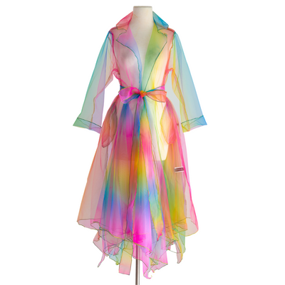 by VINNIK Tux Tail Rainbow Organza Jacket