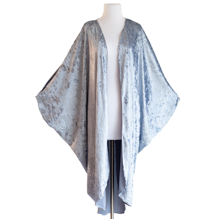 "byVINNIK Coloratura Cape in ""Silver Velvet"""