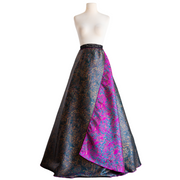 "byVINNIK Full Length Reversible Wrap Skirt ""Lucia di Lammermoor"""