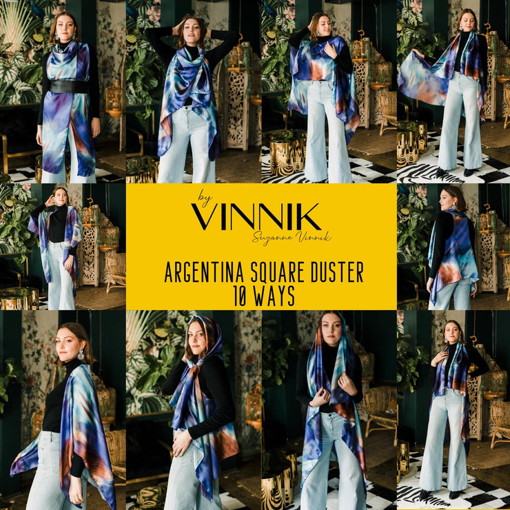 "byVINNIK: Argentina Square Duster in ""Eve"""