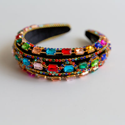 Colorful Jewelry Headband