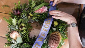 Behind the Scenes | The making of an ANZAC Wreath