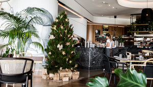 Fresh Christmas tree styling at W Hotel Brisbane