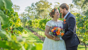 Christine and Cameron's vibrant and heartfelt Wedding