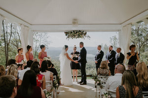 LEAH & DENNIS' ROMANTIC MOUNTAIN WEDDING
