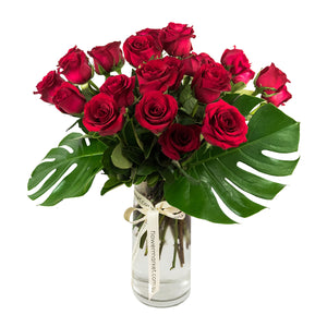 2 Doen Red Rose Bouquet delivered Brisbane