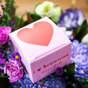 I Heart Brownies delivered Brisbane
