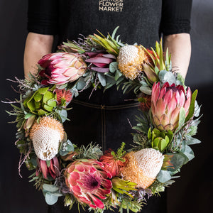 MEDIUM NATIVE WREATH 36cm